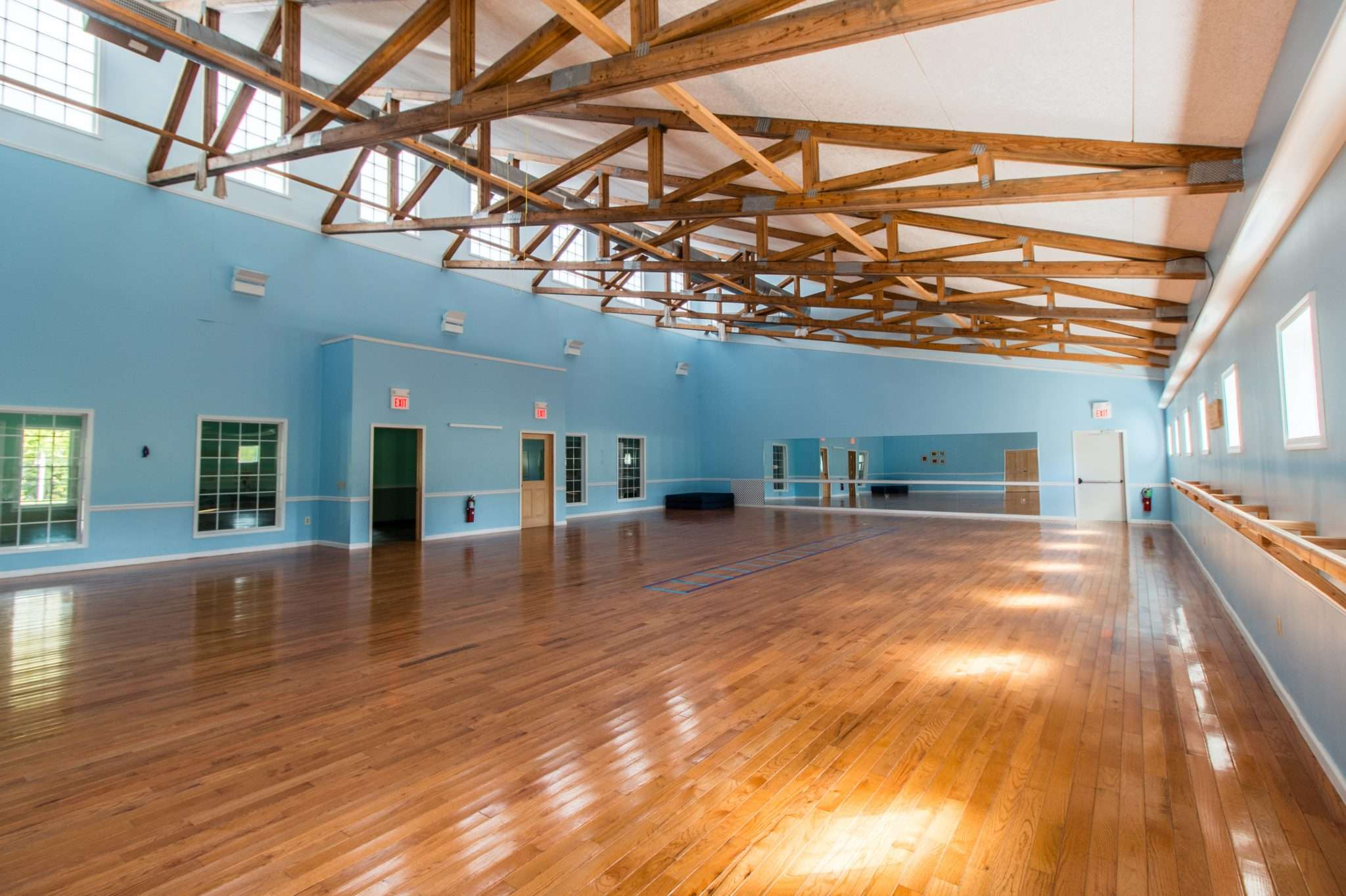 Photo of the dance studio empty
