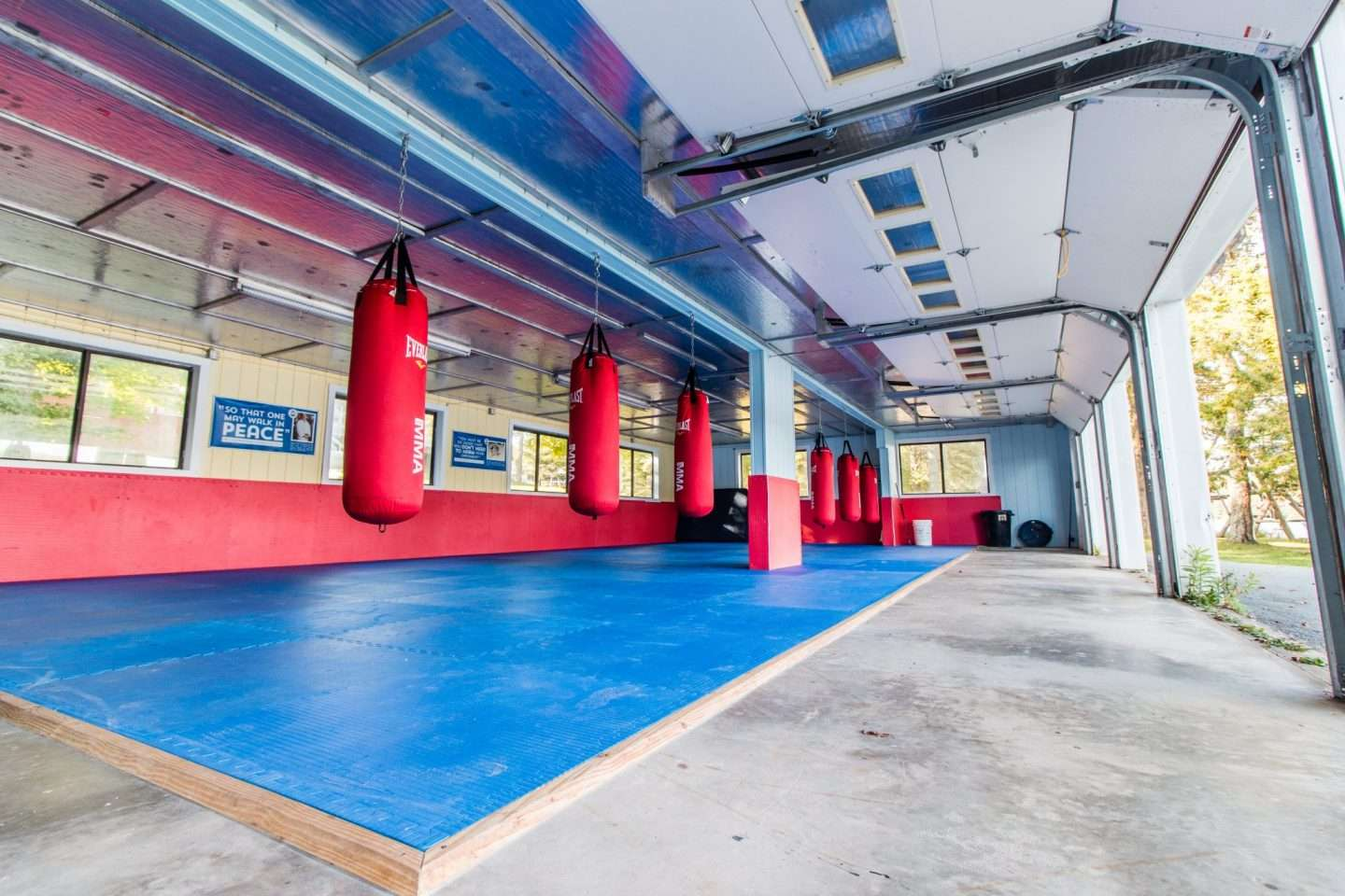 Photo of the Krav Maga studio empty