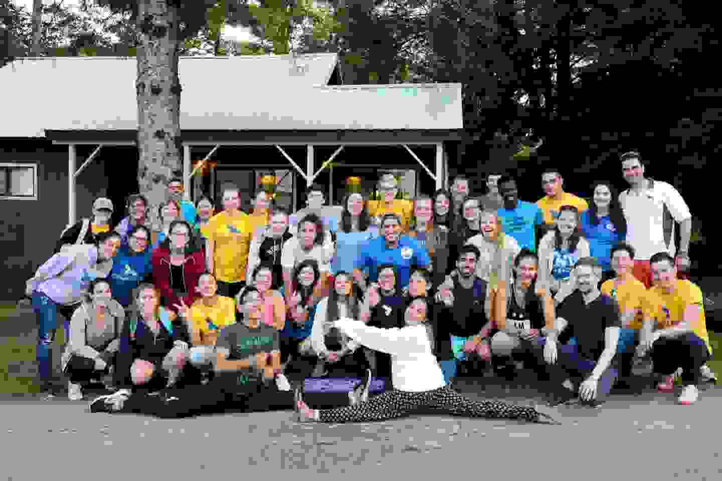 Photo of all Camp staff