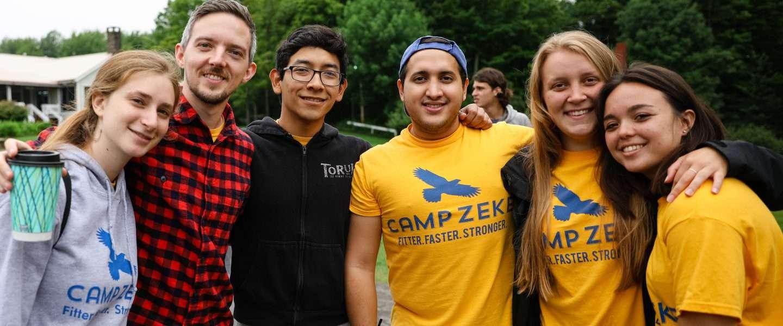 Camp Zeke staff
