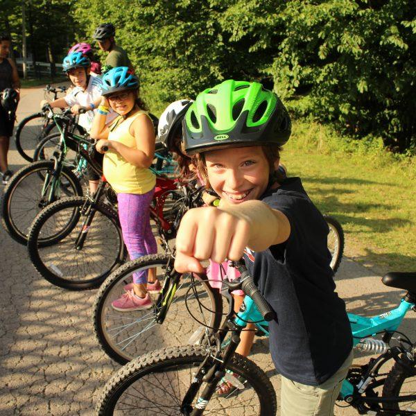 Explore Camp by Bike!